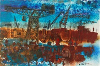 whyalla shipyards by mervyn ashmore smith