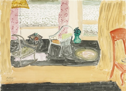 room by the sea by milton avery