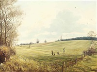 the duke's drive, tingrith by william ellis barrington-browne