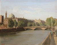 bridge over the liffey by niccolo d'ardia caracciolo