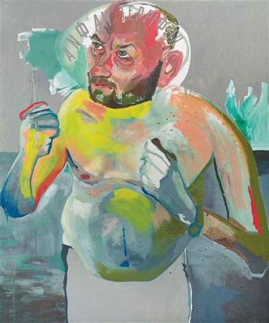untitled from the series hand painted pictures by martin kippenberger