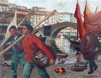 pescadores, ondarroa by julián ibáñez de aldecoa
