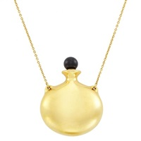 6bf7e0e70 Gold and Black Jade Perfume Bottle... Elsa Peretti