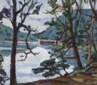 cihu lake by chen yinhui