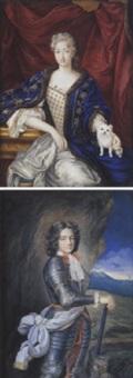 portrait de madame la duchesse de lavallière by marie charlotte (jourdin) jourdain