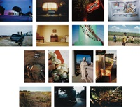 troubled waters (15 works) by william eggleston