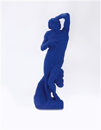 l'esclave mourant d'après michel ange (dying slave after michelangelo) by yves klein
