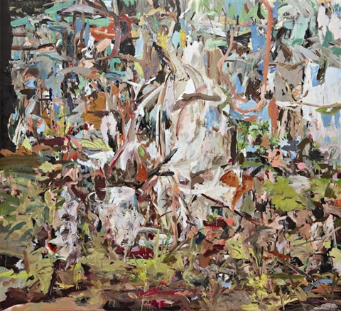 i will not paint any more boring leaves 2 by cecily brown
