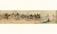 la charge des cavaliers by sebastiano de albertis