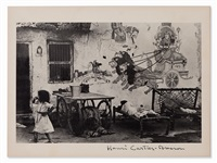 ahmedabad, india by henri cartier-bresson