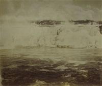 chutes du niagara, canada (2 works) by charles miller