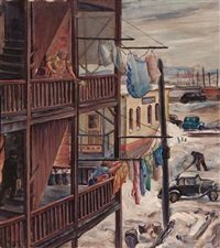 tenement porches by marion huse