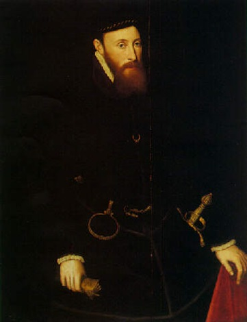 portrait of john 6th baron lumley by steven van der meulen
