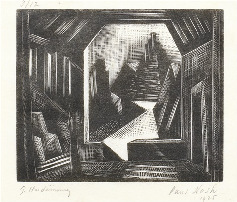 das rheingold scene 1 by paul nash