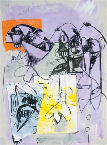panic room by george condo