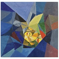 abstract composition by aleksandr konstantinovich bogomazov
