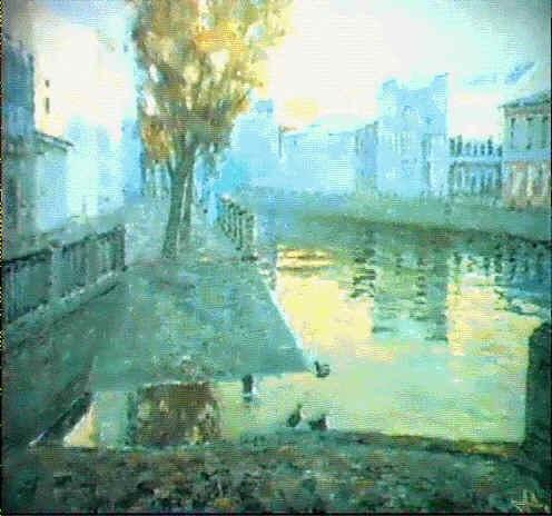 le paysage le matin by assafov