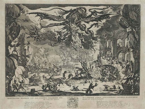la temptation de saint antoine by jacques callot