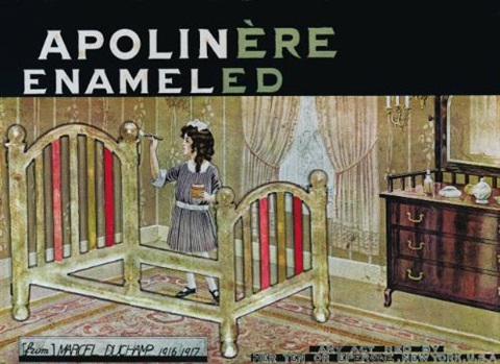 apolinère enameled by marcel duchamp