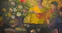 figures and flowers by brian james dunlop