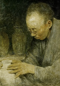 the potter by mortimer luddington menpes