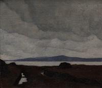 western landscape by paul henry
