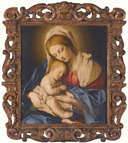 the madonna and child by giovanni battista salvi il sassoferrato