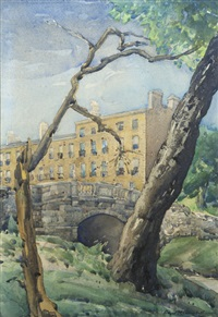 huband bridge (from percy place) by arthur m. campbell