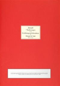 radierungen zu den erzählungen & schwänken des marquis de sade (bk w/ 7 works) by janosch