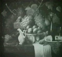still life with fruit by r. smith