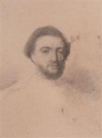 portraits d'homme (2 studies) by achille emperaire