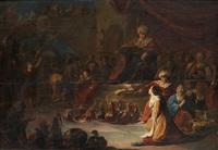 la rencontre de la reine de saba et du roi salomon by benjamin gerritsz cuyp
