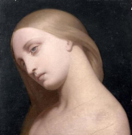 visage de marguerite by ary scheffer