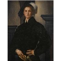 portrait of cosimo i de medici by pontormo (jacopo carucci)