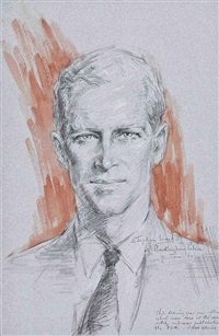 portrait of his royal highness the prince philip, duke of edinburgh by stephen ward