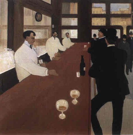 le bar en pennsylvanie by jean emile laboureur