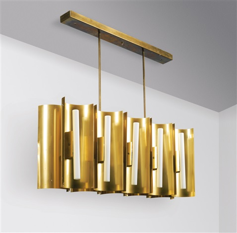 Gio Ponti Chandelier: chandelier from the parco dei principi hotel, rome by gio ponti,Lighting