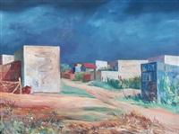 paisaje de suburbio by antonio berni
