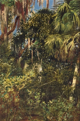 florida everglades by edwin lord weeks