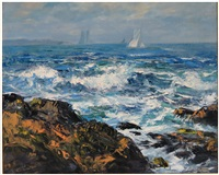 back shore, cape ann by vladimir pavlosky