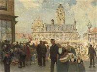het stadhuis te middelburg by hendrik jan wolter