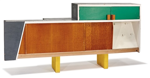 Kitchen cabinet from Unite dHabitation, Marseille by Le Corbusier ...