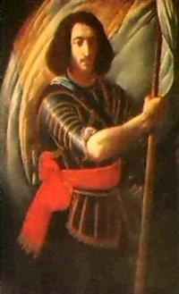 der bannertrager by felice (il risposo) fischerelli