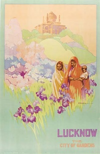 lucknow/the city of gardens by dorothy newsome