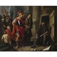 alexander the great and diogenes by hendrik heerschop