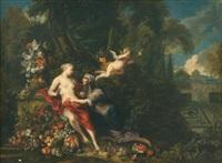vertumne et pomone by jan pauwel gillemans the elder