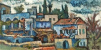 the artist's home in safed by arieh allweil