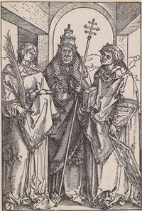 die hll. stephan by albrecht dürer