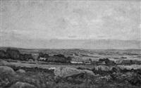 sur la côte en bretagne by françois edouard bournichon