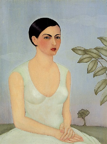 portrait of cristina my sister by frida kahlo